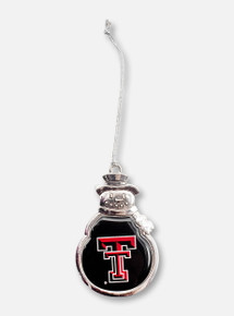 FTH Texas Tech Red Raiders Double T Snowman Ornament