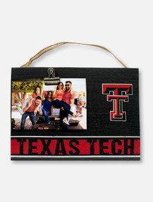 Texas Tech Red Raiders Clip it Photo Frame with Double T
