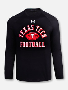 "Under Armour Texas Tech Red Raiders ""Established Football"" Long Sleeve T-Shirt"