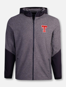 "Under Armour Texas Tech Red Raiders ""Phenom"" Fleece Full Zip Hood Jacket"