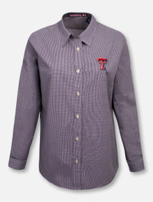 "RRO Signature Collection Texas Tech ""The Boss"" Women's Button Down Polo"