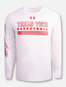 "Under Armour Texas Tech Red Raiders ""Veteran Locker Room"" Basketball Long Sleeve T-Shirt"