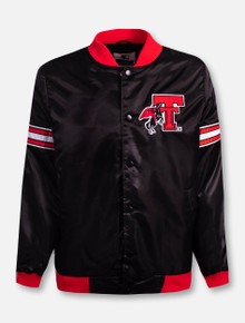 """G-III  Texas Tech Red Raiders Throwback Double T with Rearing Rider """"Hard Nose"""" Jacket"""