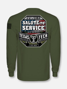 "Texas Tech Red Raiders ""Salute to Service '18"" Long Sleeve T-Shirt"