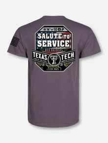 "Texas Tech Red Raiders ""Salute to Service '18"" Short Sleeve T-Shirt"