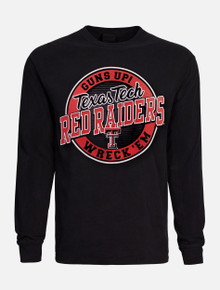 "Texas Tech Red Raiders Double T ""Hightop"" Long Sleeve T-Shirt"