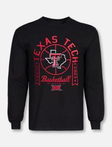 Texas Tech Red Raiders Lone Star Pride Basketball Long Sleeve T-Shirt