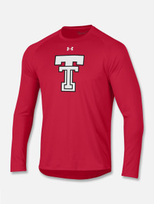 Under Armour Texas Tech Red Raiders Throwback Double T Long Sleeve T-Shirt