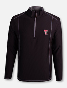 "Antigua Texas Tech Red Raiders Double T ""Tempo"" 1/2 Zip Pullover"
