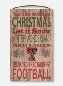 "Texas Tech Red Raiders ""Tis the Season"" Wall Decor"