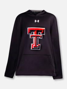 "Under Armour Texas Tech Red Raiders YOUTH ""Double T"" Fleece Hood"