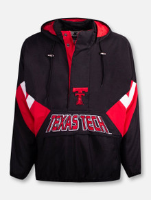 "Texas Tech Red Raiders Throwback Double T ""90's Throwback"" Starter Pullover"