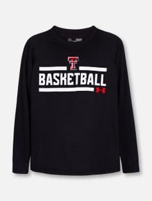 "Under Armour Texas Tech Red Raiders ""Chalkboard"" YOUTH Long Sleeve T-Shirt"