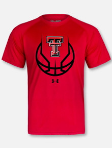 "Under Armour Texas Tech Red Raiders ""3 Ball"" Short Sleeve T-Shirt"