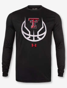 "Under Armour Texas Tech Red Raiders ""3 Ball"" Long Sleeve T-Shirt"