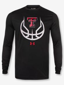 "Under Armour Texas Tech Red Raiders ""3 Ball"" Long Sleeve T-Shirt"