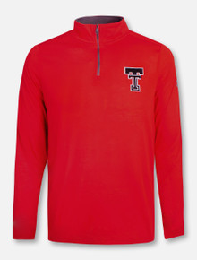 "Under Armour Texas Tech Red Raiders ""Starting Line Up"" Threadborne 1/4 Zip Pullover"