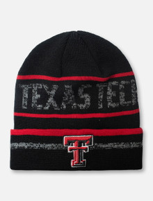 "Top of the World Texas Tech Red Raiders Double T ""Effect"" YOUTH Knit Beanie"
