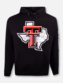 """Champion Texas Tech Red Raiders """"Shattered Pride"""" Hoodie Pullover"""