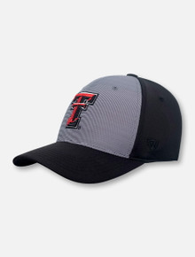 "Top of the World Texas Tech Red Raiders ""Break"" Memory Foam Stretch Fit Cap"