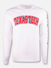 "Champion Texas Tech Red Raiders ""BIG XII"" Long Sleeve T-Shirt"