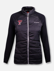 "Columbia Texas Tech Red Raiders  ""Mach 38"" Hybrid Full Zip Jacket"