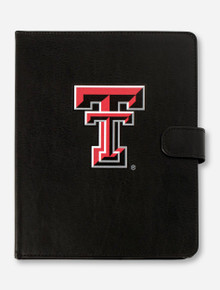 Guard Dog Texas Tech Double T on Black Leather iPad Air 2 Folio Case