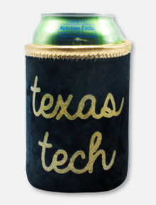 "Texas Tech Red Raiders Script ""Liam"" Velvet Can Cooler"