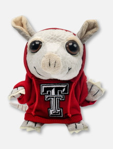 Texas Tech Red Raiders Armadillo with Double T Hoodie Plush Toy
