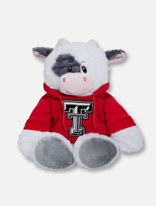 "Texas Tech Red Raiders Cow ""Snugglerz"" with Double T Hoodie Plush Toy"