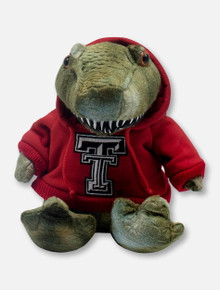 Texas Tech Red Raiders T-Rex with Double T Hoodie Plush Toy