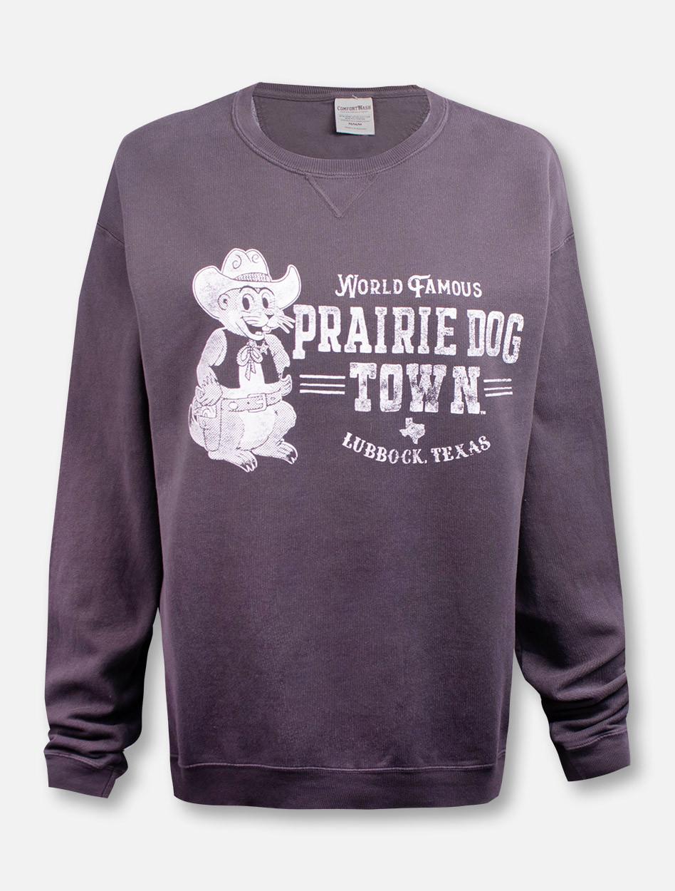 on sale 17a5d 720e0 Texas Tech Red Raiders World Famous Prairie Dog Town Sweatshirt
