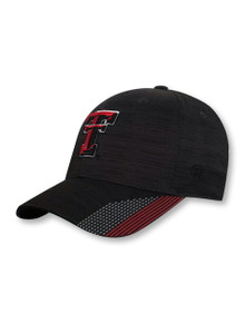 "Top of the World Texas Tech Red Raiders Double T ""Trace"" Fitted Cap"