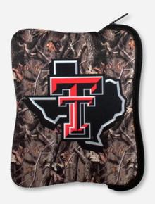 Texas Tech Lone Star Pride on Camo Neoprene Tablet Case