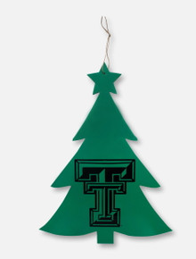 Texas Tech Red Raiders Double T Christmas Tree Wall Decor