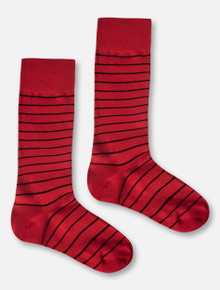 Texas Tech Red Raiders Striped Dress Socks