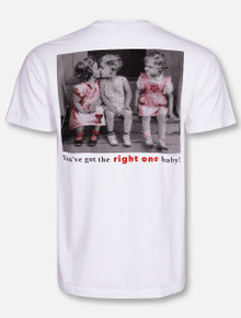 "Texas Tech Red Raiders Texas Tech vs. A&M ""You've Got the Right One Baby"" T-Shirt"