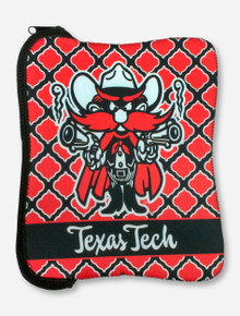 Raider Red Texas Tech Red & Black Neoprene Tablet Case