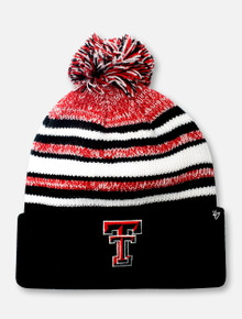 "Texas Tech Red Raiders Double T ""Bubbler"" YOUTH Beanie"