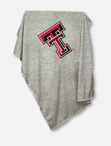 Texas Tech Red Raiders Embroidered Double T Sweatshirt Blanket