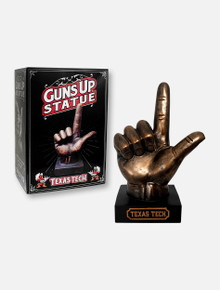 "Texas Tech Red Raiders ""Guns Up"" Statue"