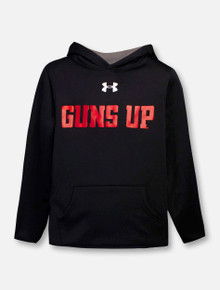 "Under Armour Texas Tech Red Raiders Youth ""Guns Up Mahomes"" Fleece Sweatshirt Hoodie"