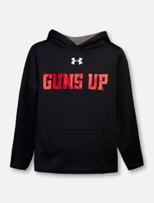 "Under Armour Texas Tech Red Raiders Youth ""Guns Up Mahomes"" Fleece Sweatshirt Hoodie"