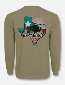 "Texas Tech Red Raideres ""Buffalo Gap"" Long Sleeve T-Shirt"