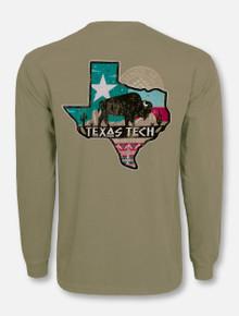 "Texas Tech Red Raideres ""Buffalo Gap"" Long Sleeve T-Shirt"