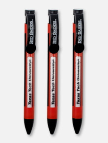 Texas Tech Red Raiders Message Pen 3-Pack