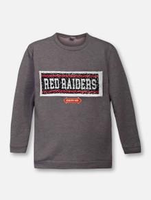 ZooZatz Texas Tech Red Raiders Reverse Sequin YOUTH Sweatshirt