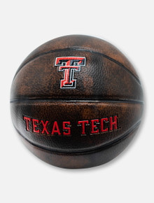 Texas Tech Red Raiders Vintage Mini Basketball