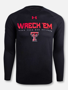 "Under Armour Texas Tech Red Raiders ""Wreck Em Rally Call"" Long Sleeve"
