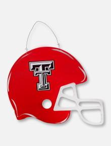 "Texas Tech Red Raiders ""Helmet"" Metal Sign"